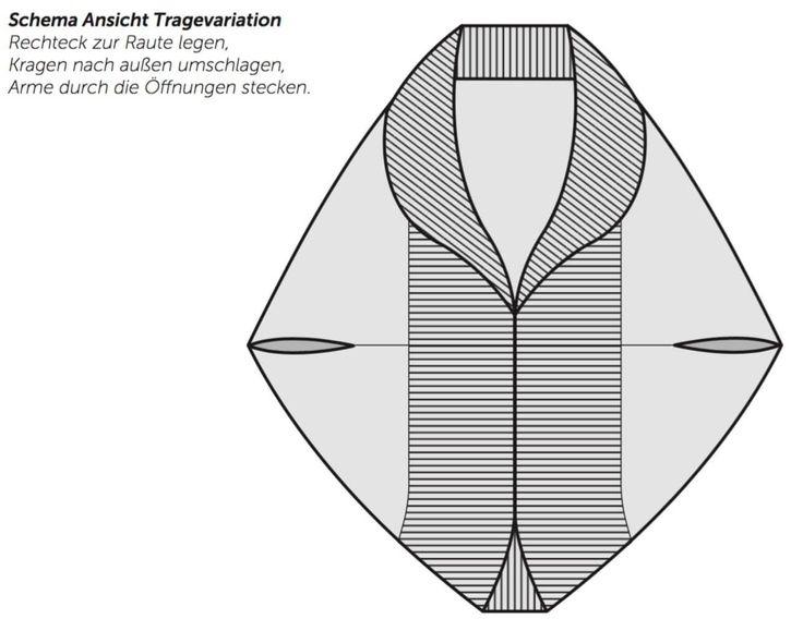 Der tolle Seelenwärmer im schicken Muster-Mix wurde von Tanja Steinbach designed. Ein wunderbares Kleidungsstück, das kuschelig, warm und modern ist. Der Seelenwärmer im großen Perlmuster ist schnell