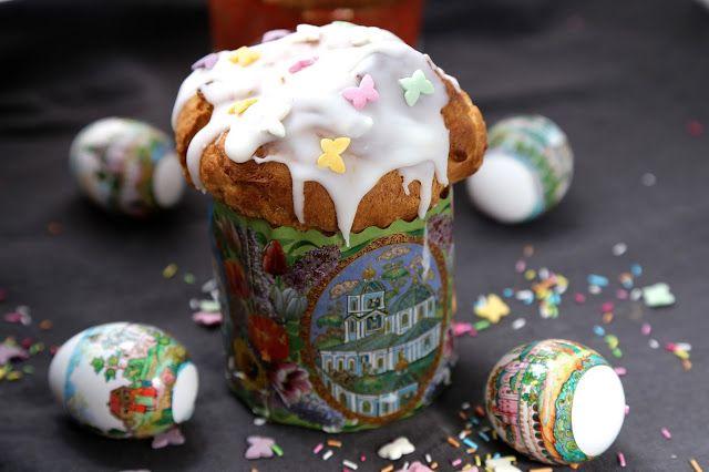 On Dine chez Nanou | Koulitch russe et rues de Moscou pour Pâques orthodoxe  |               Cette année il y a plus d'un mois d'écart entre la célébration de Pâques chez...