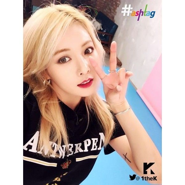 4Minute *Hyuna Kim ❤ liked on Polyvore featuring hyuna and kpop