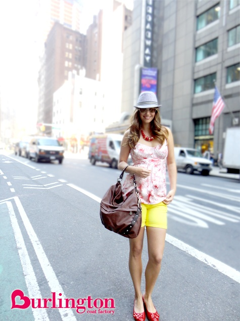 Yellow and floral.: Pinterests Maria, Style, Fashion Distractions, Bright Spring, Burlington Bright