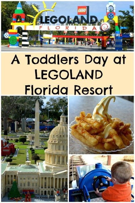 A Toddlers day at Legoland Florida Resort this post includes a sample itinerary for a day at Legoland. In January, we spent the day at LEGOLAND Florida Resort. Our toddler was just 22 months old, I was 9 months pregnant and we had a blast. thekeeledeal.com #legoland #florida #toddler #familytravel