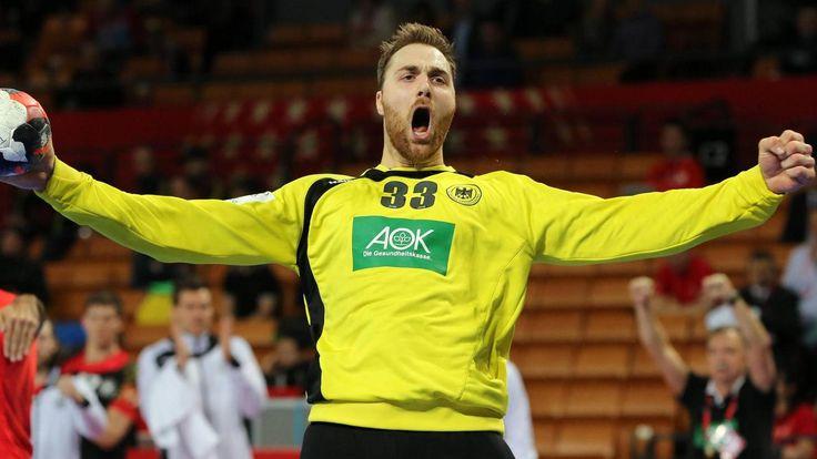 Geballte Fäuste:Torhüter Andreas Wolff hat mit seinen Paraden entscheidenden Anteil am Höhenflug der deutschen Mannschaft bei der Handball-EM. (Quelle: imago/Contrast)