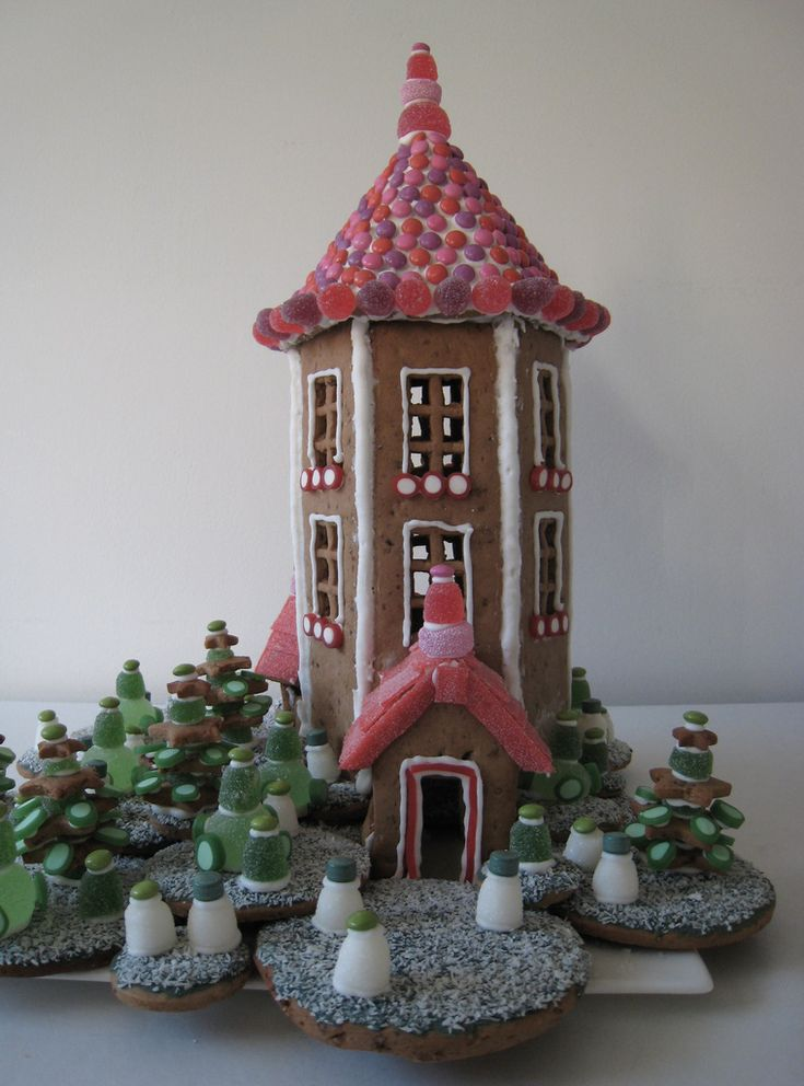 Forget Christmas ginger bread houses.... I'm making the moomin house!