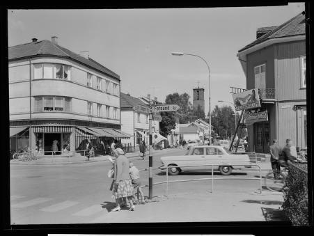 Lillestrøm - Fjeidberghjørnet 1960-tallet Mittet