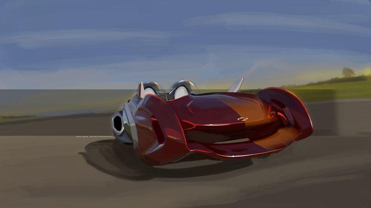 Chevrolet Windstroke - Internship project - 2014 - Akira Watanabe