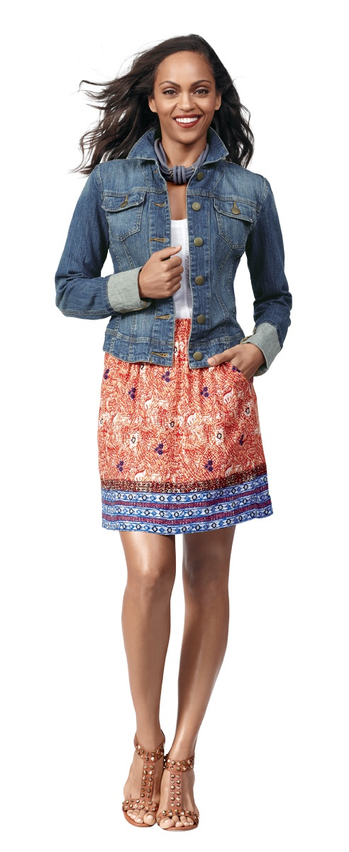 CAbi Bella skirt. Just got this great spring/summer skirt and can't wait to wear it!