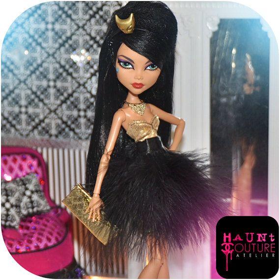 Poupée monstre « Égyptien Chic » vêtements robe haute couture