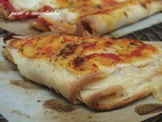 Doppi Ventagli di Piadina gusto Pizza in 5 minuti
