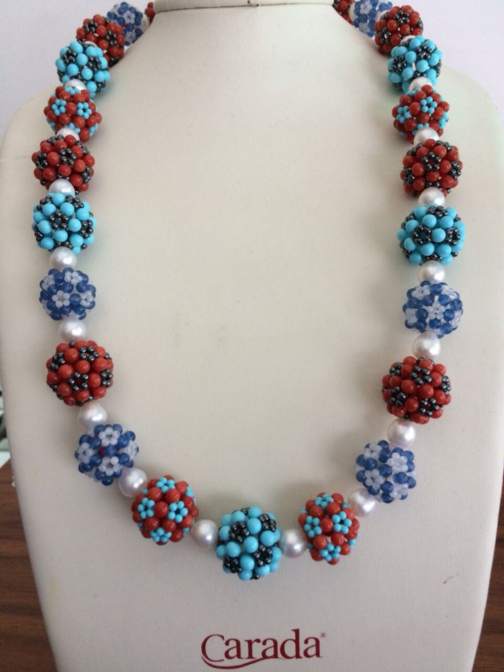 Coral /Turquoise Necklace