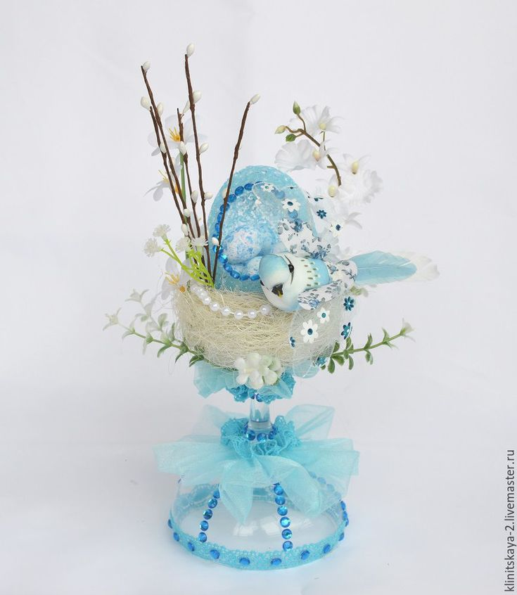 Купить Пасхальная интерьерная композиция, декор к Пасхе, подарок на Пасху. - пасхальный подарок, пасхальный сувенир
