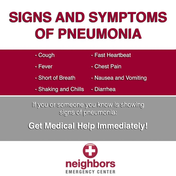 Signs of #pnemonia #health