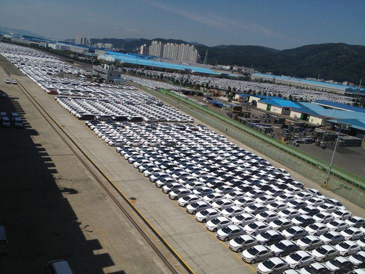 hyundai motor company, Ulsan Korea