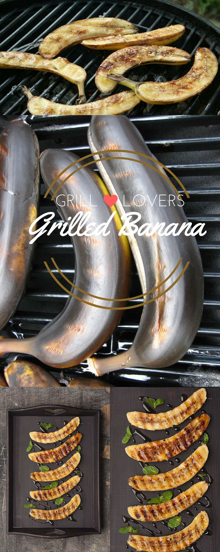Grill Lovers' Amazing Grilled Bananas Recipe   #recipes #foodporn #foodie…