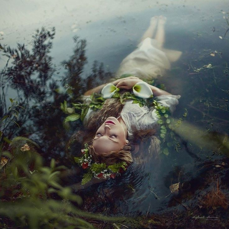 Stunning Ophelia from photographer Irina Dzhul, featured in the spring 2015 issue of Faerie Magazine!  https://500px.com/IrinaDzul