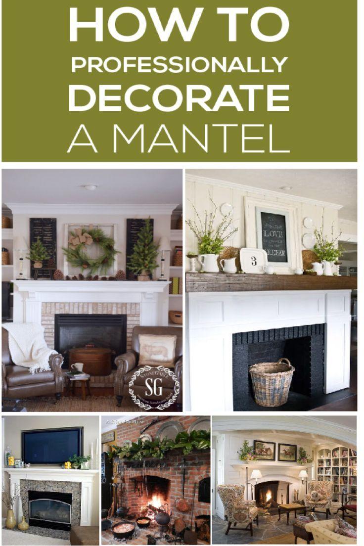 How To Professionally Decorate A Mantel Design Diy Ideas