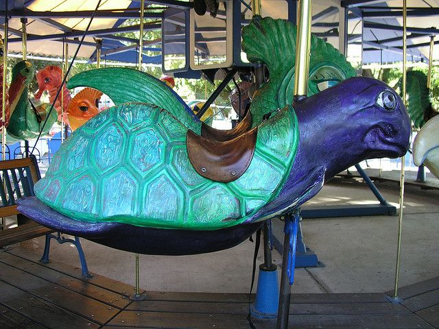 King Neptunes Carousel from Happy Hallow, San Jose, California/ by kingneptunescarousel, via Flickr