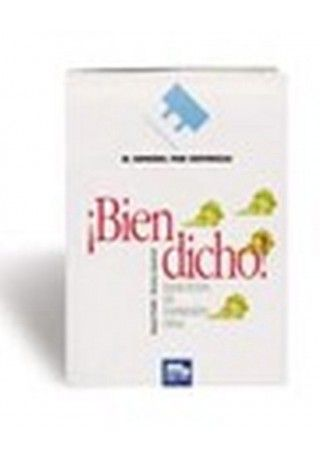 Bien dicho książka + CD audio gratis