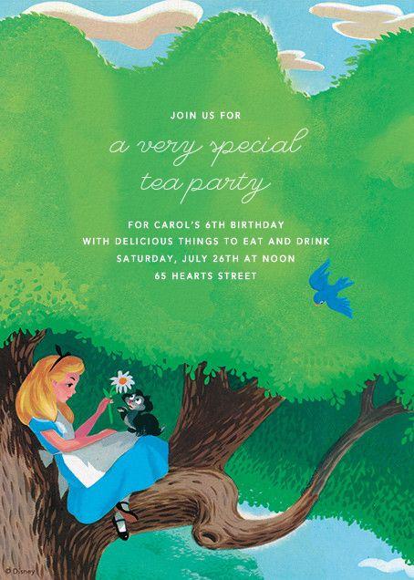 disney online invitations