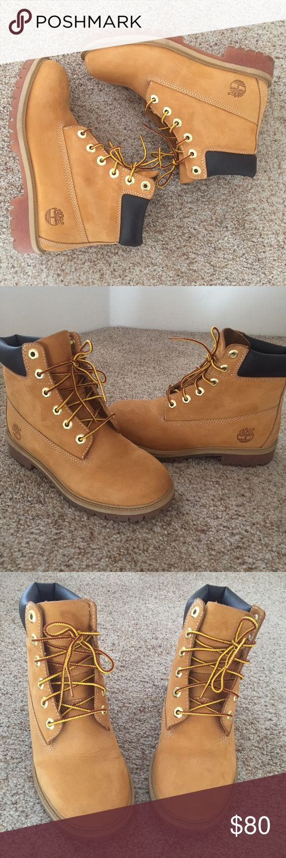 Timberland Waterproof Boots Very good condition,worn twice. Junior size 4.5 fits women's 7. Timberland Shoes Ankle Boots & Booties