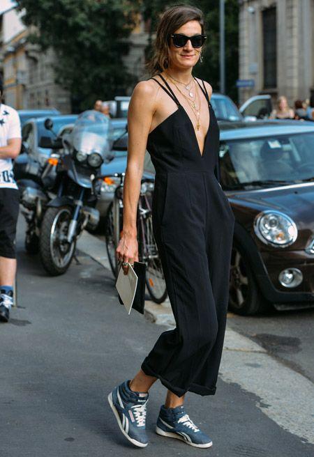 Tommy Ton Shoots Silvia Bergomi / Street Style / Spring 2015 Menswear Collections #silviabergomi