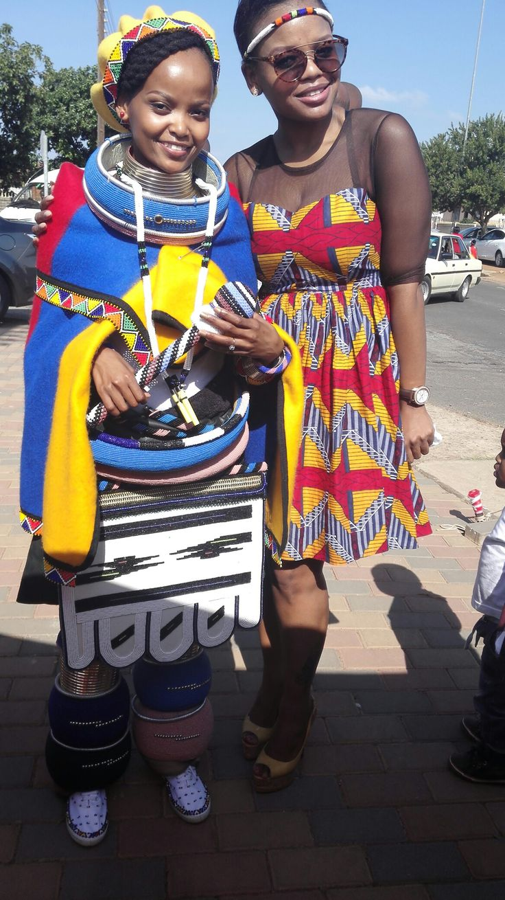 Ndebele queen #african prints