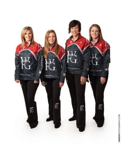 WFG-Sponsored Canadian Curling Team, Team Jennifer Jones #WFG