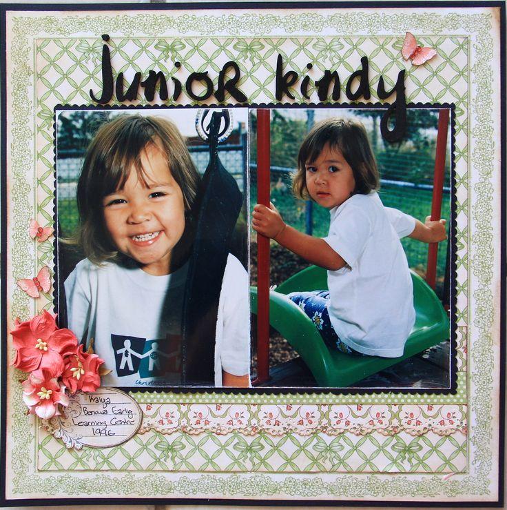 Junior Kindy - Scrapbook.com