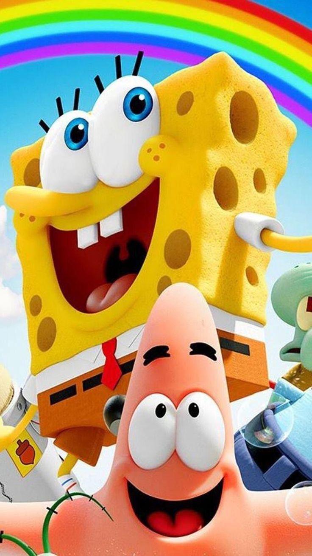 Spongebob in 2020 Disney phone wallpaper, Spongebob