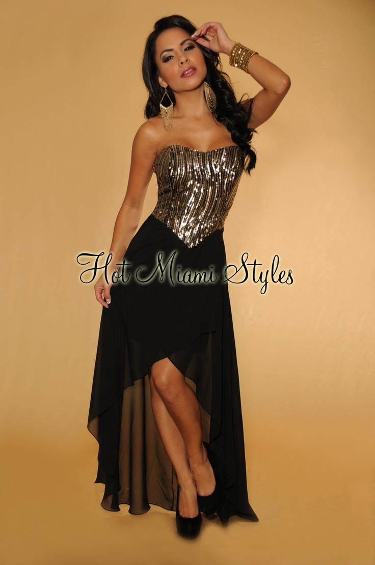 Deina lace panel maxi dress in black