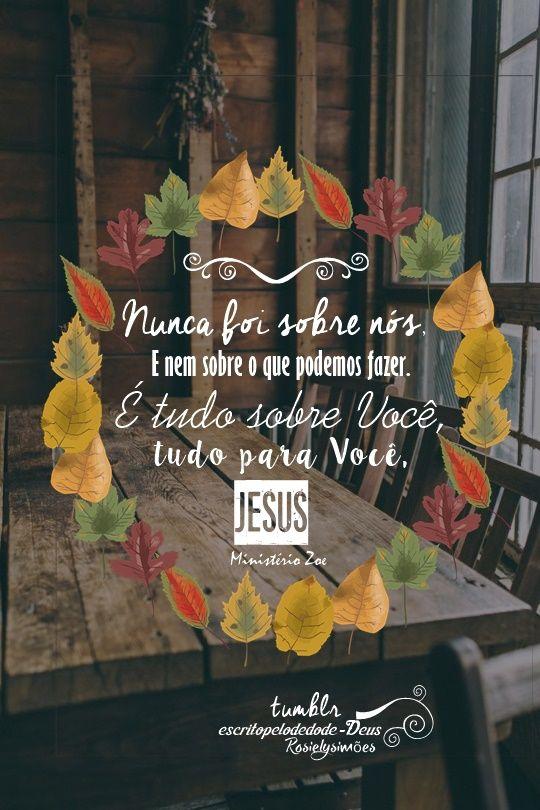 Ei, Jesus está contigo, não desista! : Fotografia