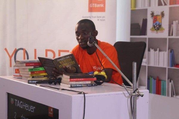 "Nigeria's Bayode Treasures-Olawunmi breaks Guinness World Record for ""The Longest Reading Marathon"""