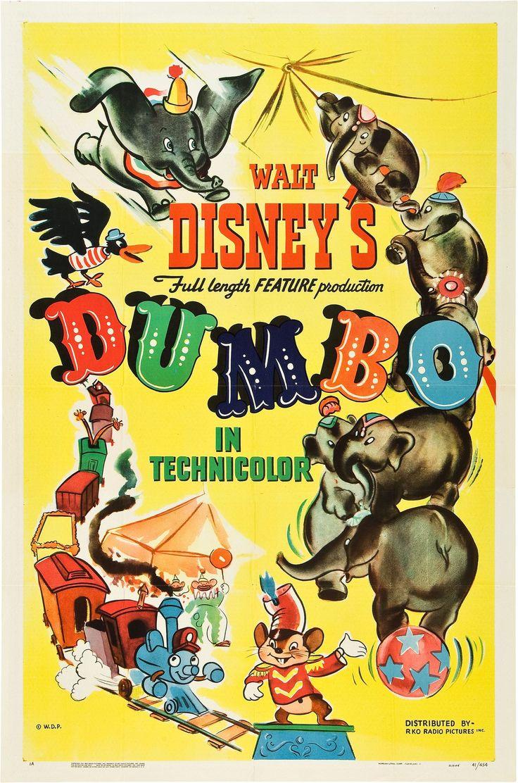 Dumbo (film) Vintage disney posters, Walt disney