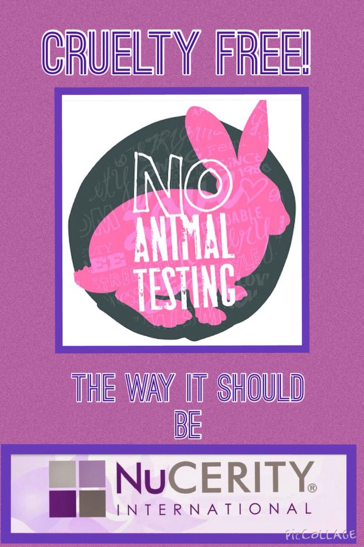 Nucerity...NO ANIMAL TESTING!!  To get your bottle check out my web page: www.au.buynucerity.com/traceychapman