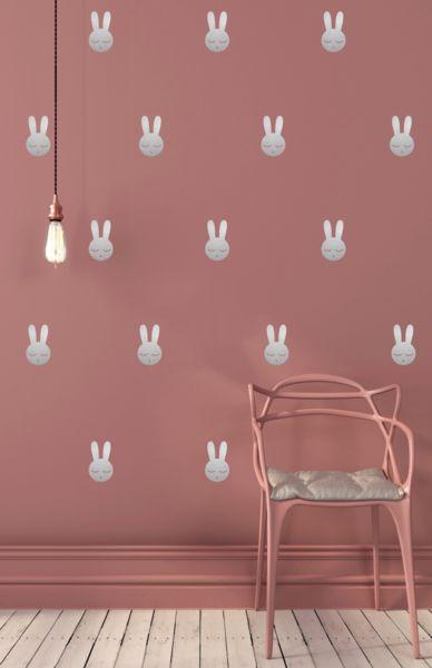 POM Le Bonhomme Bunny Wall Stickers