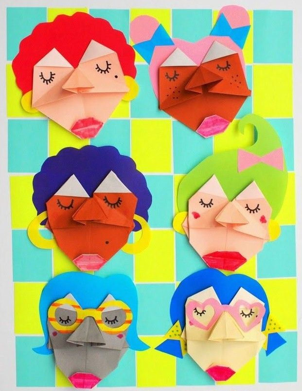 diy-visages-origami