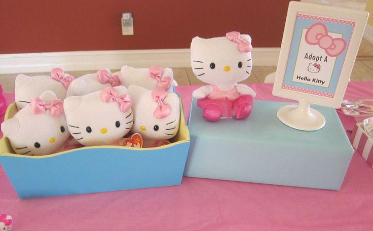 Hello Kitty Birthday party ideas!