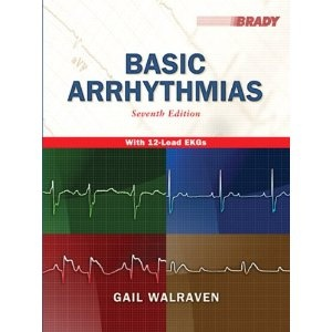 Basic Arrhythmias, 7th Edition   $76.21  no kindle edition   Publisher: Prentice Hall; 7 edition (July 3, 2010)  Language: English  ISBN-10: 0135002389  ISBN-13: 978-0135002384  Product Dimensions: 8.5 x 0.9 x 10.9 inches
