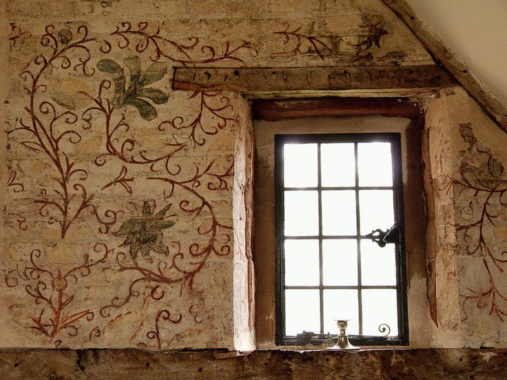 Wall Painting, Harvington Hall, Harvington, Kidderminster, Worcestershire, England | Flickr - Photo Sharing!