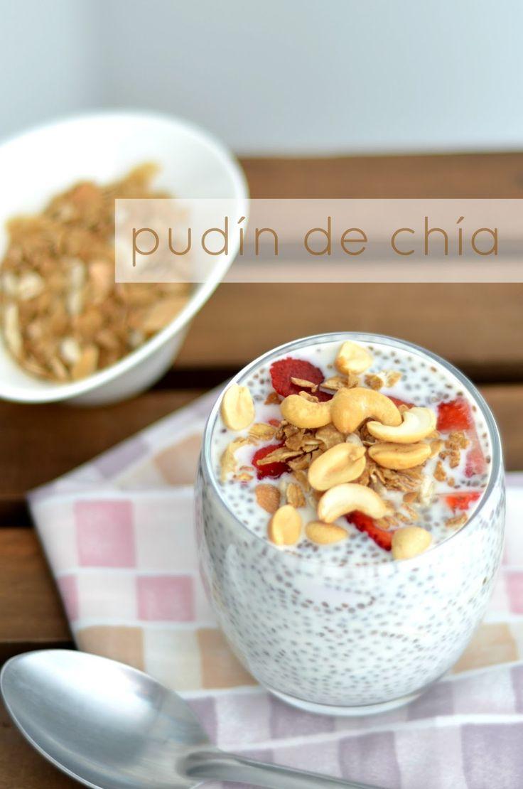 Juliana con Sal | Delicioso Blog de Cocina : Pudín de Chía para el desayuno