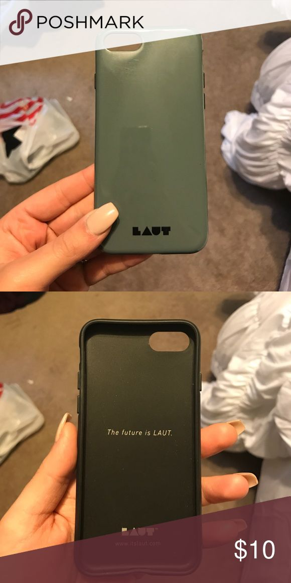 LAUT iphone 7 case Used it on my phone for a day or 2, i like to switch phone cases all the time so there's nothing wrong with it! i just change my mind all the time! LAUT Accessories Phone Cases