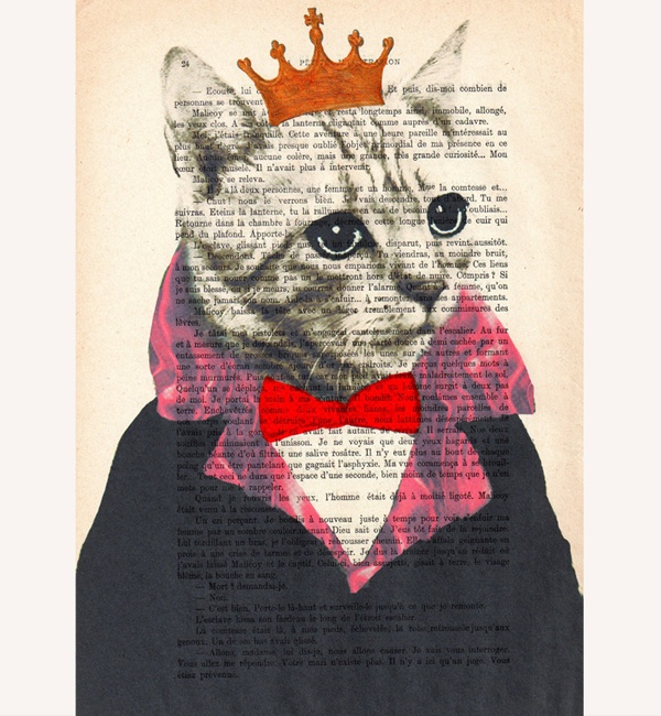 Unique Art Cat King