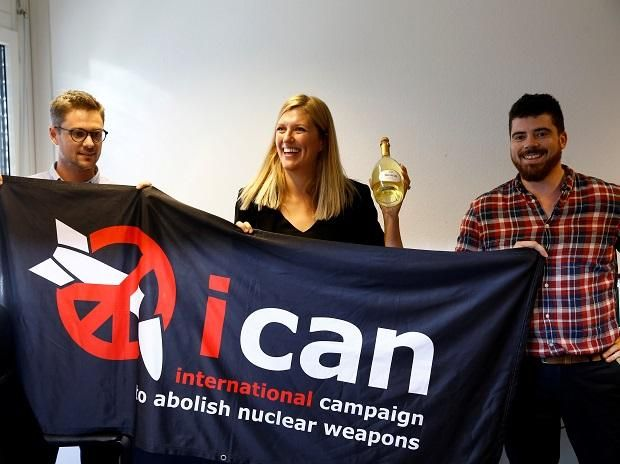 Anti-nuclear body ICAN wins Nobel Peace Prize - Business Standard #757Live