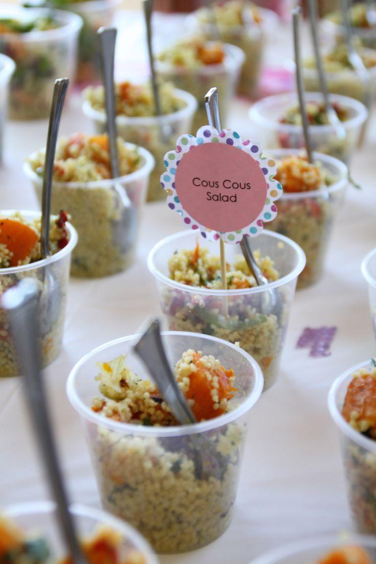 Individual Cous Cous Salad