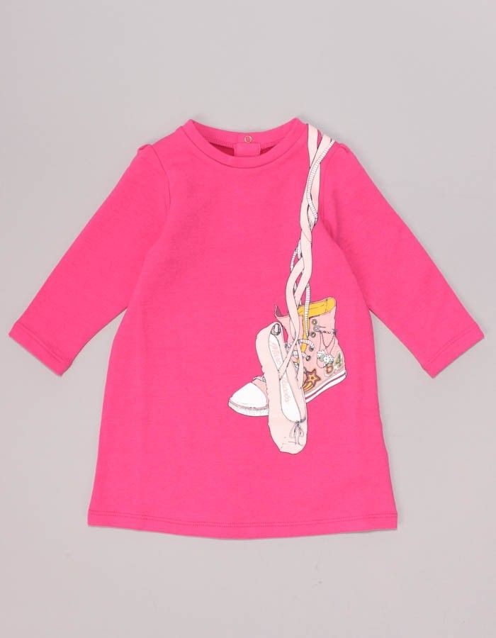 Marc Jacobs Pink Shoe Logo Dress | Accent Clothing