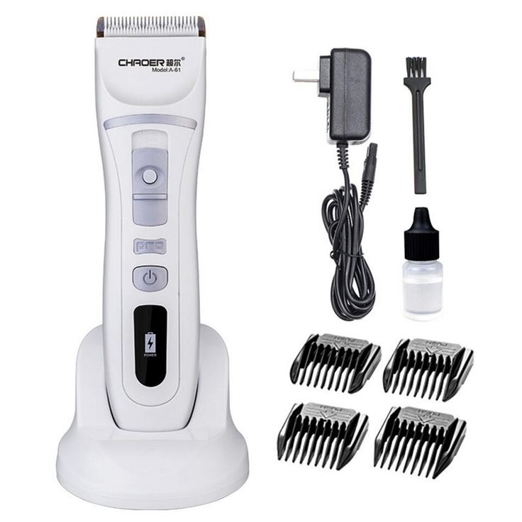New Arrival Electric Hair Clipper Professional Rechargeable hairclipper Hair Trimmer for Men Baby Salon Tools 110-240V