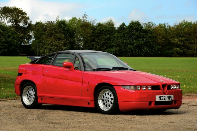 1990 Alfa Romeo SZ Zagato Coupe £30,000: Alfa Romeo, Classic Cars, Romeo Sz, Cars Pictures, Old Cars, Moderno Alfaromeo, Alfa Sz, Automotive Design, 1990 Alfa