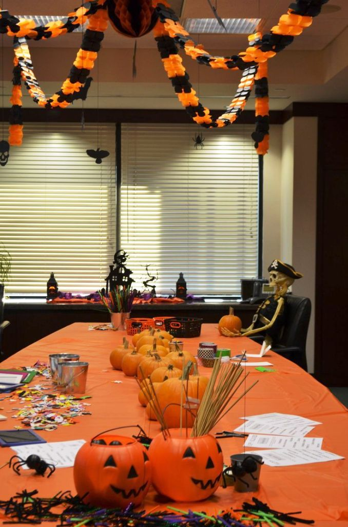 Fantastic Halloween Decorations For Your Office Space On Pinterest  Halloween