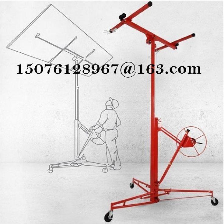 Gipsplaten en panel hoist up platform lifting machine houtbewerking gereedschap lift gipsplaat plafond