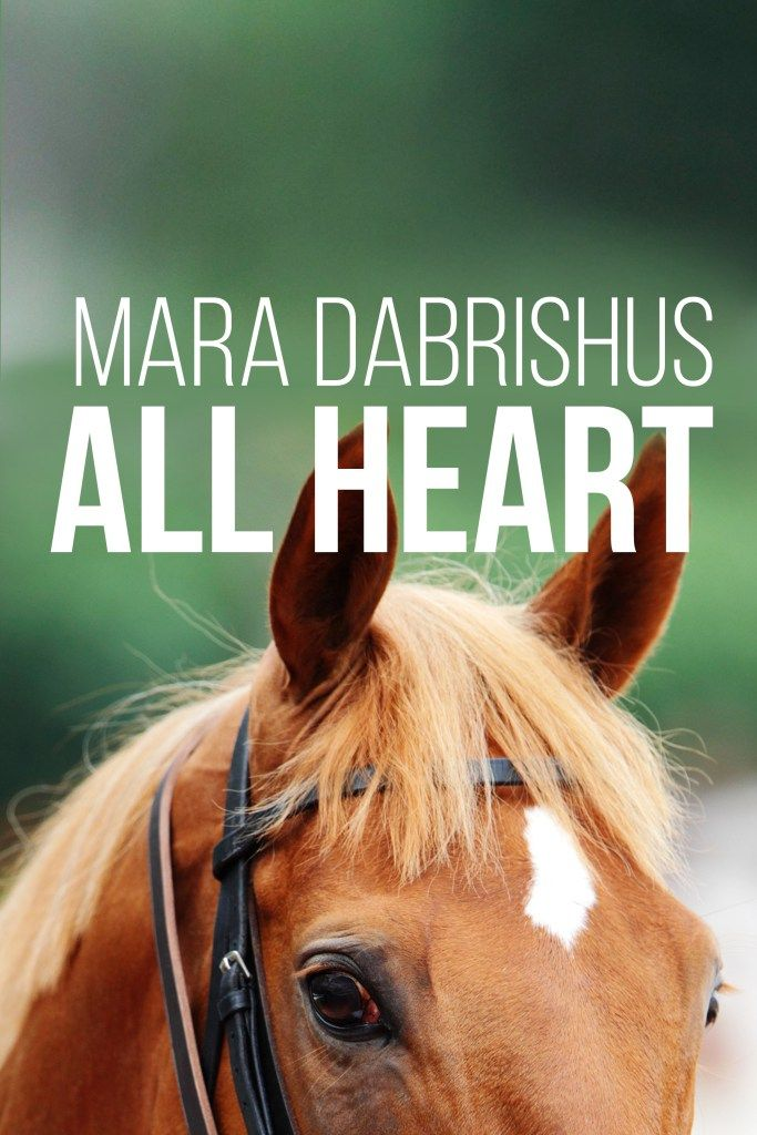 I'm so excited for the new Mara Dabrishus #racing novel coming out this year! #horsebooks