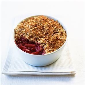 Forest fruits oaty cinnamon crumble Recipe | delicious. Magazine free recipes